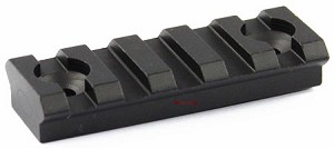 "Omega Mfg AR-15 Key Mod KeyMod Rail Section, 2"" section"
