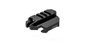 Strike Industries Stock Adapter Back Plate for CZ Scorpion EVO 3 - Black