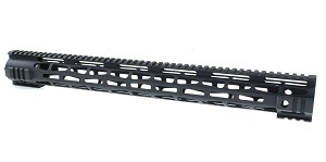 "Omega Mfg. ""Rampage"" 19.5"" LR-308 MLOK Handguard for Low Profile DPMS"