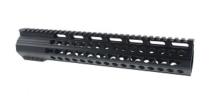 "Omega Mfg. LR-308 12"" High Profile Free Float Keymod Handguard"
