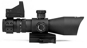 Trinity Force Redcon 3-9X42 Rifle Scope & Micro Red Dot Sight **Designed For AR-15 Type Rifles**