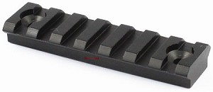 "Omega Manufacturing AR-15 KeyMod Rail Section, 3"" section"