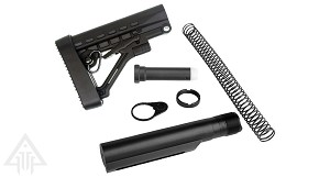 Trinity Force Omega AR-15 Collapsible Stock & Complete Mil-Spec Buffer Tube Kit Combo