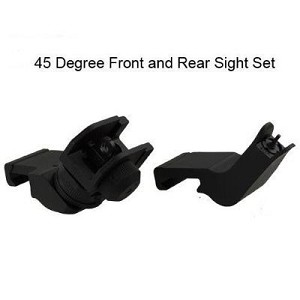 Omega Tactical Rapid Transition 45 Degree Offset Sights Picatinny