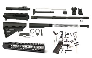 Davidson Defense AR-15 Carbine Ultimate Budget Builders Complete Kit (Minus Lower Receiver)