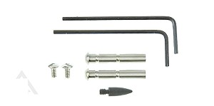 AR-15 Stainless Steel Anti-Walk Pin Set-Made in U.S.A.