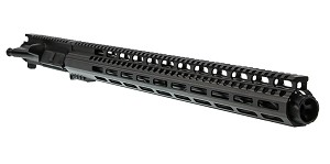 "Davidson Defense ""Astronaut"" AR-15 Upper Receiver 18"" Ultra-Match 6.5 Grendel QPQ Nitride 1-8T Straight Fluted Heavy Barrel 19"" M-Lok Handguard (Assembled or Unassembled)"