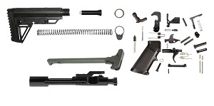 Trinity Force Alpha Stock AR-15 Finish Your Rifle Kit .450/.458 Caliber