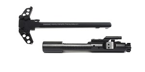 "Delta Deals AR-15 5.56/.223/300 BLK OUT BCG + AR-15 Ambidextrous ""Holy"" Charging Handle"