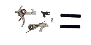 Delta Deals AR-15 Davidson Defense 2 Stage Nickel Boron Trigger + Hammer and Trigger Pins