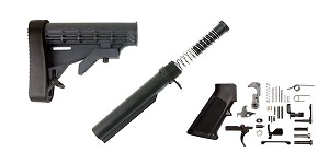 Omega LE AR-15 Finish Your Lower Rifle Kit