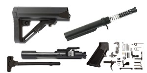 Delta Deals UTG Pro AR-15 Finish Your Rifle Build Kit - 5.56/.223/.300/.350