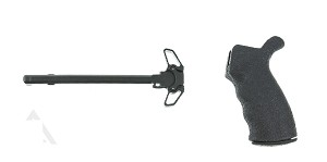 Blackhawk  Grip + Mil-Spec Ambidextrous Charging Handle Combo