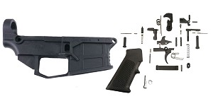 Delta Deals AR-15 80% Lower Build Kit featuring JMT Equalizer 80% Polymer Lower with Jig +  Tactical Superiority  Complete Mil-Spec Lower Parts Kit (LPK)