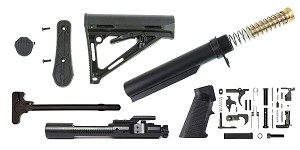 Delta Deals Davidson Defense AR-15 Deploy Stock Finish Your Rifle Build Kit - 5.56/.223/.300/.350