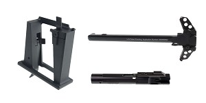 Delta Deals Sylvan Arms 9MM Glock Magwell Conversion Block + 9MM Nitride Bolt Carrier Group +
