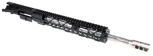 "NEW! Davidson Defense Assembled Upper 16"" .223 WYLDE 1:8 Stainless Steel Fluted Barrel W/ 12"" KeyMod Handguard and Super Compensator (Optional BCG & Charging Handle)"