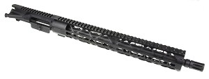 "NEW! Davidson Defense Assembled Upper 16"" 5.56 1:7 Nitride Barrel W/ 15"" KeyMod Handguard and A2 Muzzle Brake (Optional BCG & Charging Handle)"