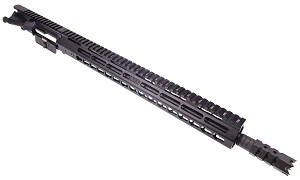 "Davidson Defense Assembled Upper 16"" 5.56 Nato 1:7 Nitride Barrel W/ 15"" Slim KeyMod Handguard (Optional BCG & Charging Handle)"