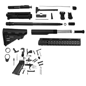 Davidson Defense DIY AR-15 H-Bar Super Low Priced Complete Carbine Kit With BCG (Minus Lower Receiver)