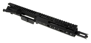 "Davidson Defense AR-15 Pistol Upper 7.5"" Nitride 5.56 1:7 Barrel W/ Slim Keymod Handguard & Custom 4-port Muzzle Brake"