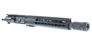 "Davidson Defense ""Electric Boogaloo"" AR-15 Pistol Upper Receiver 10.5"" 5.56 NATO 4150 CMV 1-7T Barrel 10"" KeyMod Handguard (Assembled or Unassembled)"