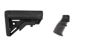 Delta Deals Stock and Pistol Grip Furniture Set: Featuring Davidson Defense + United Defense