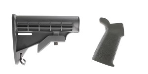 Delta Deals Stock and Pistol Grip Furniture Set: Featuring Lakota Ops + Spike's Tactical