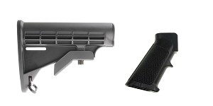 Delta Deals Stock and Pistol Grip Furniture Set: Featuring Lakota Ops + MMC Armory