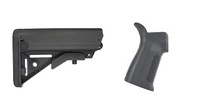 Delta Deals Stock and Pistol Grip Furniture Set: Featuring JE Machine + Trinity Force