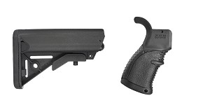 Delta Deals Stock and Pistol Grip Furniture Set: Featuring JE Machine + FAB Defense