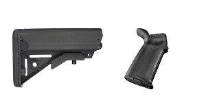 Delta Deals Stock and Pistol Grip Furniture Set: Featuring JE Machine + Magpul