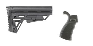 Delta Deals Stock and Pistol Grip Furniture Set: Featuring Trinity Force + Omega Mfg.