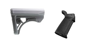 Delta Deals Stock and Pistol Grip Furniture Set: Featuring Leapers + Magpul