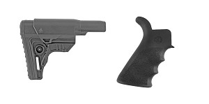 Delta Deals Stock and Pistol Grip Furniture Set: Featuring Leapers + Hogue