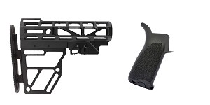 Delta Deals Stock and Pistol Grip Furniture Set: Featuring United Defense + BCM