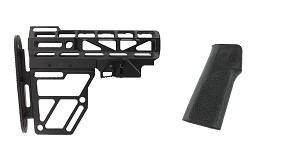 Delta Deals Stock and Pistol Grip Furniture Set: Featuring United Defense + Hogue