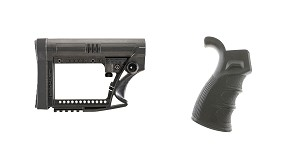 Delta Deals Stock and Pistol Grip Furniture Set: Featuring Luth-Ar + Omega Mfg.
