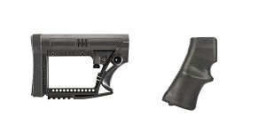 Delta Deals Stock and Pistol Grip Furniture Set: Featuring Luth-Ar + A*B Arms