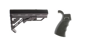 Delta Deals Stock and Pistol Grip Furniture Set: Featuring Davidson Defense + Omega Mfg.