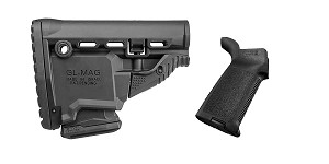 Delta Deals Stock and Pistol Grip Furniture Set: Featuring FAB Defense + Magpul