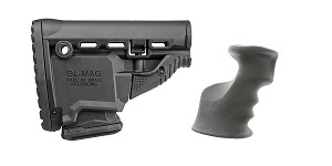 Delta Deals Stock and Pistol Grip Furniture Set: Featuring FAB Defense + JE Machine