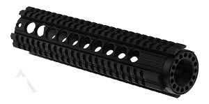"Omega Mfg. Force Series Ar-15 10"" Free Floating Quad Rail Handguard   **Below Mfg Cost**"