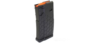 HEXMAG, Magazine, .308 Win/7.62 NATO, 20Rd, Fits DPMS/SR25 - Black Finish