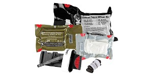North American Rescue, Individual Patrol Officer Kit (IPOK), Medical Kit