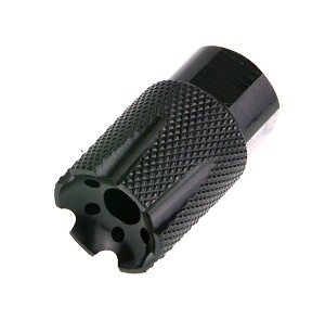 NEW! XXtreme Defense 1/2x28 Short Knurled Linear Muzzle Device  & Flash Hider