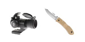 Delta Deals KABAR Folding Knife + Red Dot Sight w/ Cantilever