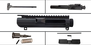 Delta Deals LR-308 Upper Starter Kit Featuring: Davidson Defense LR-308 Low Profile Upper Receiver, Dust Cover, Forward Assist, LR-308 BCG and Charging Handle