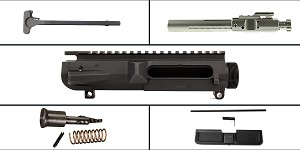 Delta Deals LR-308 Upper Starter Kit Featuring: Aero Precision LR-308 High Profile M5 Upper Receiver, Dust Cover, Forward Assist, LR-308 BCG and Charging Handle