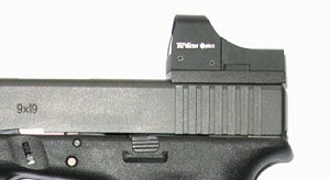 Vector Optics Red Dot Sight Base for Glock Pistols